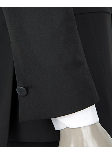 Tween Slim Fit Düz Takım Elbise Siyah
